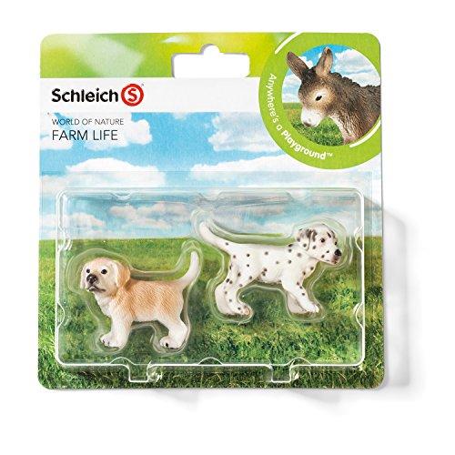 Schleich 21030 - Farm Life Babies, Wildtiere Spielset - Set 1