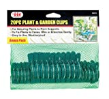 Lawn & Patio - Plant & Flower Clips - Gentle - 20 Pc