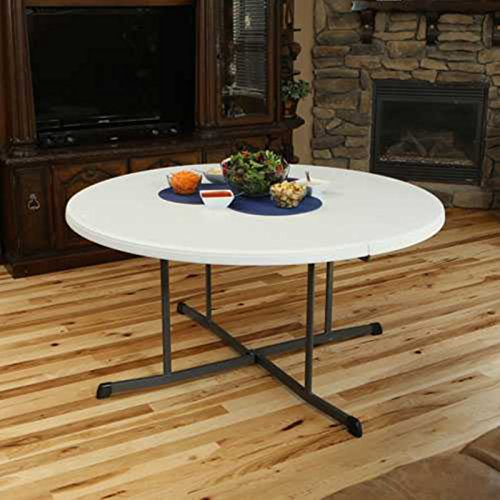 Lifetime 25402 60in Round Folding Table At Competitive