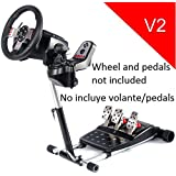 (ATTENTION! La vente aux enchères concerne seulement le support, sans volant ni pédales.)Wheel Stand Pro for Logitech G29/G920/G25/G27 Racing Wheel - DELUXE V2