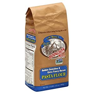 Amazon.com: Hodgson Mill Pasta Flour Golden Semolina and