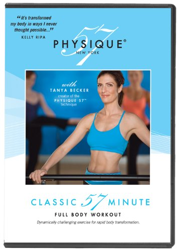 Physique 57 Classic 57 Minute Full Body Workout DVD  (Packaging may vary)