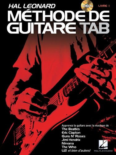 Hal Leonard Methode de Guitare Tab Book/CD 1 (French Edition)
