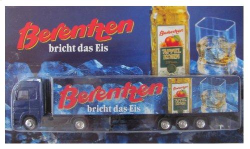 Berentzen Nr.01 - Berentzen bricht das Eis - MB Actros - Sattelzug