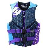 Hyperlite Ladies Flex Vest (Blue/Purple) Womens Life Jacket-Medium