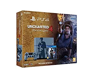 PlayStation 4 1 Tb C Chassis + Uncharted 4