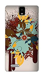 SWAG my CASE PRINTED BACK COVER FOR INFOCUS M330 Multicolor