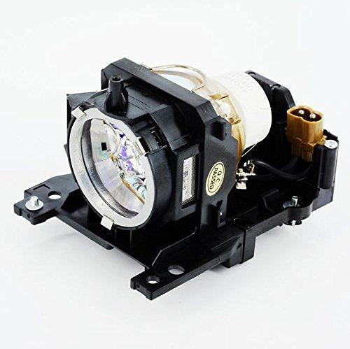 haiwo DT00911/cpx2/3/401lamp de haute qualité Ampoule de projecteur de remplacement compatible avec boîtier pour Hitachi cp-wx401/wx410/X201/x206/X301/x306/X401/X450/x467/xw410& # xff0C; ED-X31/x33.