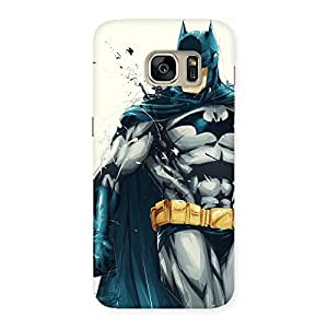 Ajay Enterprises Knight Hunt Multicolor Back Case Cover for Galaxy S7