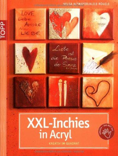 XXLInchies In Acryl Kreativ Im Quadrat Amazonde Helga