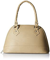 Alessia74 Women's Handbag (Beige) (PBG217J)