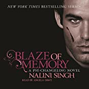 Blaze of Memory: Psy-Changeling, Book 7 | Nalini Singh