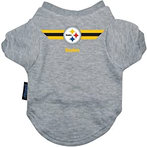Hunter Pittsburgh Steelers Team Pet T-Shirt by Hunter Manufacturing