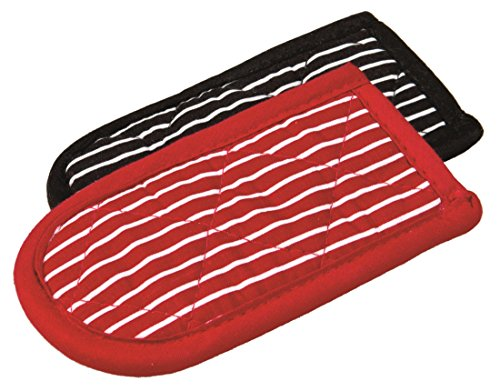 Lodge Striped Hot Handle Holders/Mitts, Set of 2 (Cast Iron Cover compare prices)