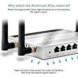 AFOUNDRY 300Mbps Wireless Router,dual band best wifi routers, five 5dBi external antenna
