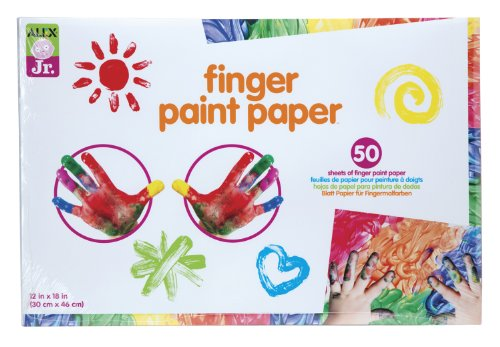 ALEX Toys ALEX Jr. Finger Paint Paper
