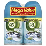 Air Wick Freshmatic Automatic Spray Air Freshener, Fresh Waters, 2 Refills, 6.17 Ounce