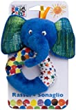 Joy Toy The Very Hungry Caterpillar 551262 Elephant Rattle 13 cm
