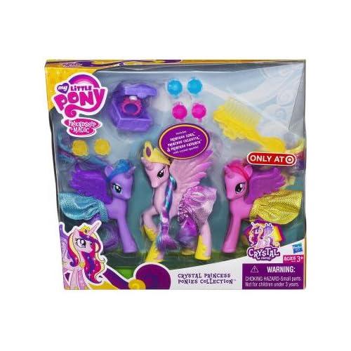 My Little Pony A0639 – Crystal Princess Ponies Collection – mit Prinzessin Luna, Celestia und Candance als Weihnachtsgeschenk
