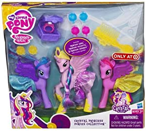 My little pony crystal princess ponies collection amazon for Kitchen set zabawka