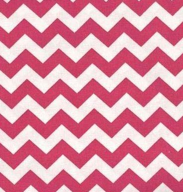 Hot Pink Chevron Bedding 5141 front