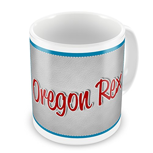 Coffee Mug Oregon Rex, Cat Breed United States - Neonblond