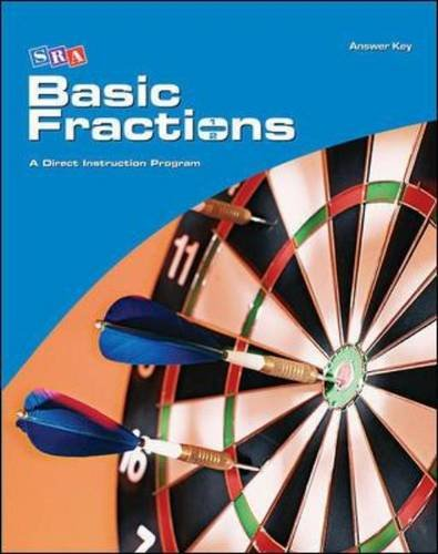 Corrective Mathematics - Additional Answer Key (Basic Fractions) (Corrective Math Series)