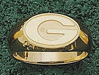 Georgia Bulldogs G 3 8 Mens Ring Size 10 1 2 - 14KT Gold Jewelry by Logo Art