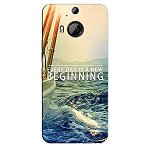 KEEP GOING BACK COVER FOR HTC ONE M9 PLUS