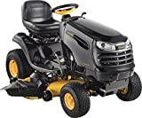 Poulan Pro 960420171 PB22VA48 Briggs 22 HP V-Twin Ready Start Pedal Control Fast Auto Drive Cutting Deck Riding Mower, 48-Inch
