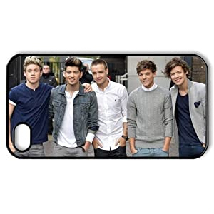 E-Cover Custom Design One Direction Collection Hard Cover for iPhone 4,4S E-Cover-065 by One Direction Case Cover