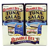 Bumble Bee Tuna Salad with Crackers, 3.5 Ounce (Pack of 12)