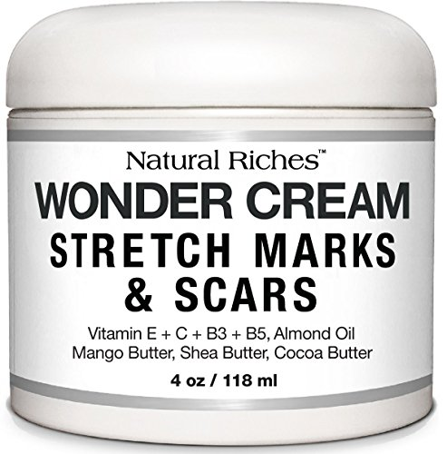 Stretch-Marks-Scar-Removal-Cream-from-Natural-Riches-4-oz-100-Natural-Reduces-the-Appearances-of-Keloids-Pregnancy-Stretch-Marks-and-scars-helps-in-Firming-Tightening-Skin
