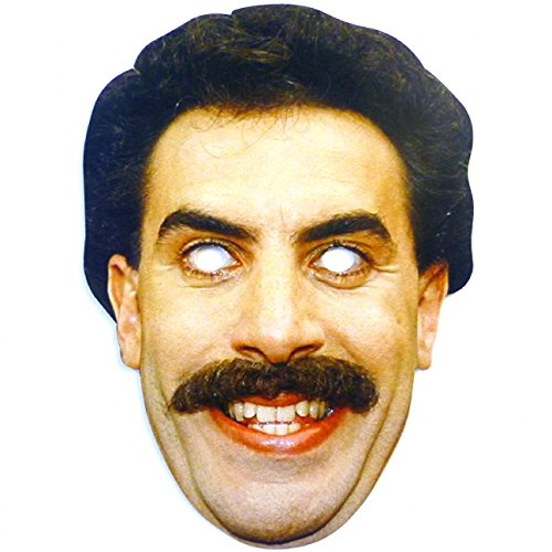 Just For Fun Borat Face Mask (Card)