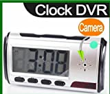 SPY CAMERA HIDDEN CAM CCTV in a DIGITAL ALARM CLOCK for SECURITY with REMOTE CONTROL