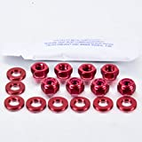 Aluminium Rocker Cover Kit Audi 80 (4 Cyl) Red