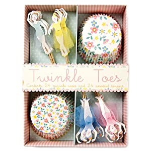 Meri Meri Twinkle Toes Ballerina Cupcake Kit