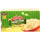 Orville Redenbachers Smart Pop! 94% fat free butter microwave popcorn, 40 2.9-oz. bags 114 oz Box