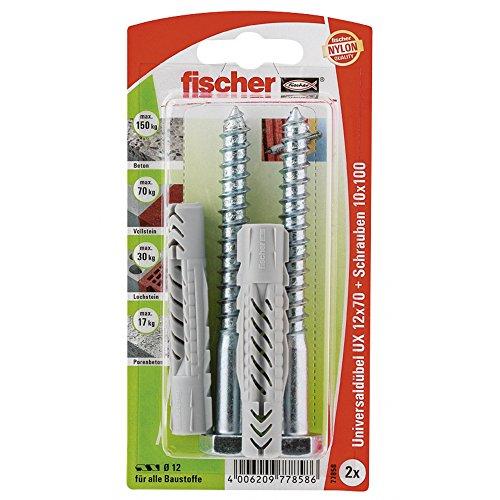 fischer-77858-lot-de-2-chevilles-universelle-ux-12-x-70-mm-sk