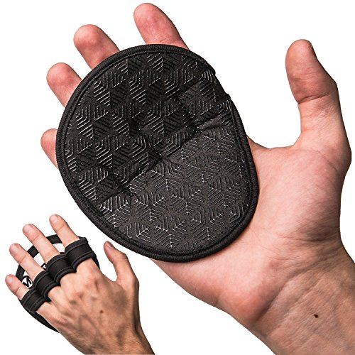 Weightlifting Silicone Pads - Grip More, No Chalk or Sweaty Hands - Men & Women (Hand Pads compare prices)