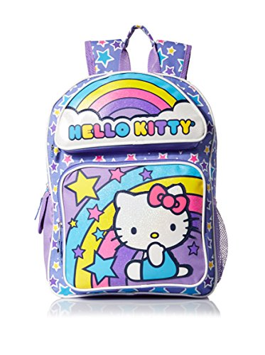 Hello-Kitty-Girls-Rainbow-Stars-Backpack-Multi