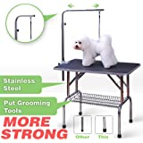 Pingkay High Quality Midsize Pet Dog Cat Profession Dog Show Fold Grooming Table