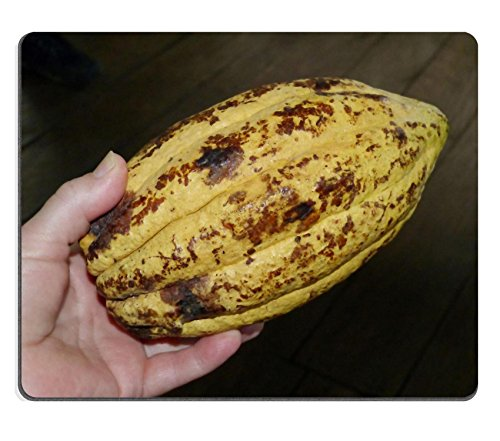 Liili Mouse Pad Cocoa Bean Cacao Cocoa Chocolate Natural Rubber Material Image 280110 (Cocoa Fruit compare prices)