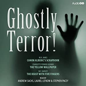 Ghostly Terror! Audiobook