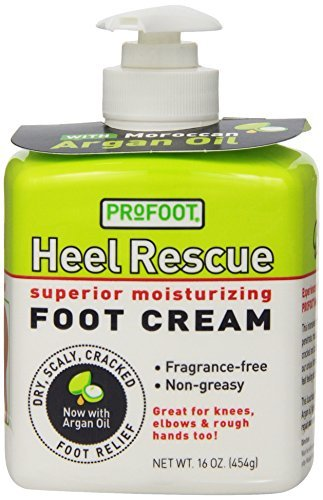 PROFOOT Heel Rescue Foot Cream, 16 oz (Pack of 3) (Foot Treatment Cream compare prices)