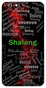 Shalang (Emperor) Name & Sign Printed All over customize & Personalized!! Protective back cover for your Smart Phone : Moto G2 ( 2nd Gen )