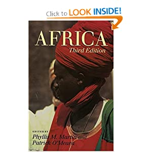 Africa (3rd Edition) Phyllis M. Martin and Patrick O'Meara