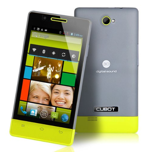 New Unlocked Fashionable CUBOT C9W Dual Core 4.0