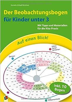 Auf einen Blick! Der Beobachtungsbogen für Kinder unter 3: Kornelia