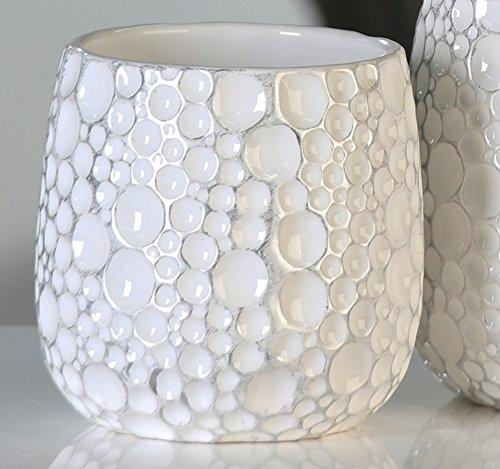 maceta-gaps-blanco-plata-d15-cm-altura-15-cm